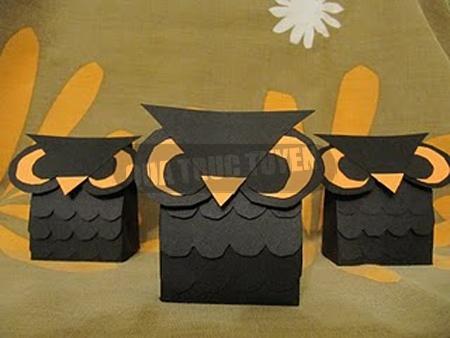 Cách làm hộp quà cú mèo độc đáo