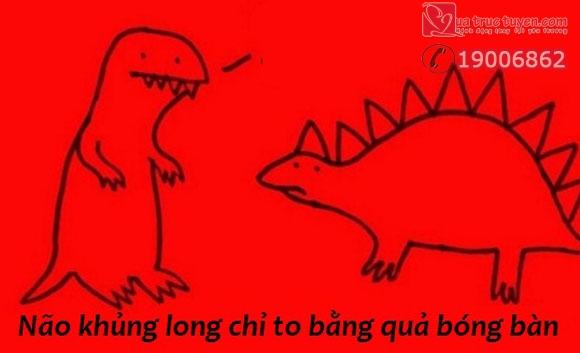 Fun facts vui: Não khủng long bằng quả bóng bàn