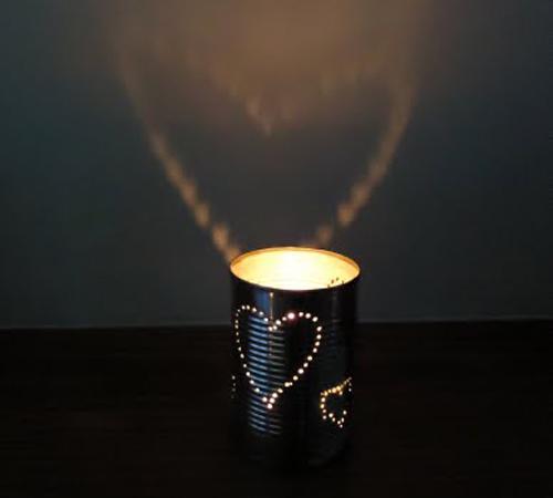 Hộp phát sáng hình trái tim