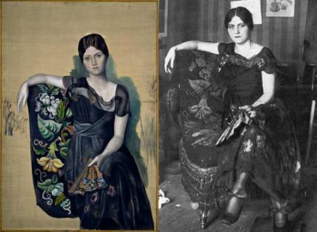 """Bức họa: """"Chân dung của Olga trong một chiếc ghế bành"""""""