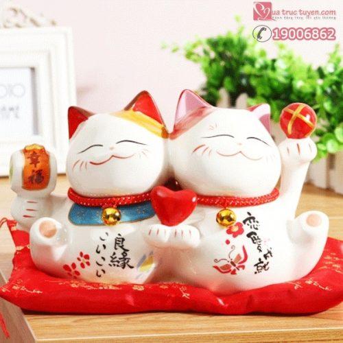 Mèo thần tài đôi tình yêu