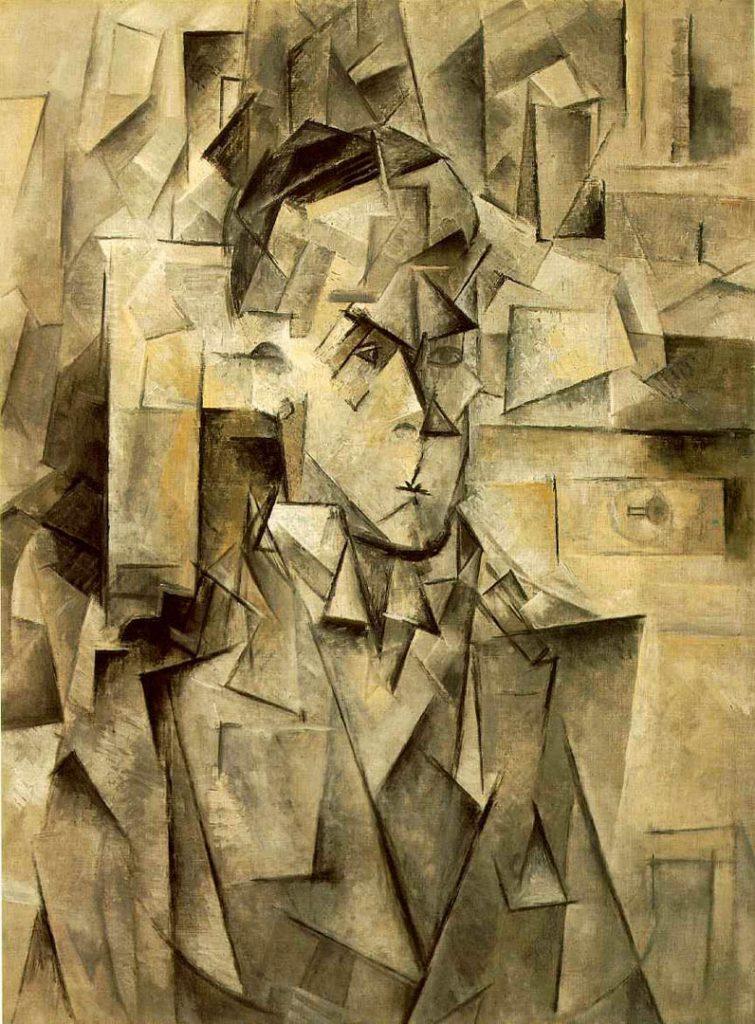 Picasso, Portrait of Wilhelm Uhde, 1910