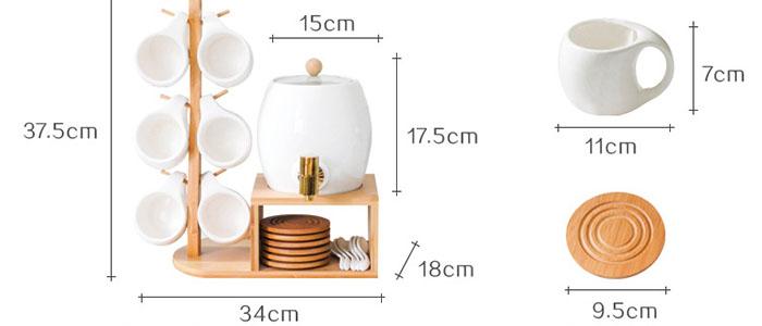 Bộ chén đĩa