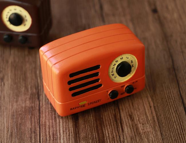 Hộp nhạc radio retro