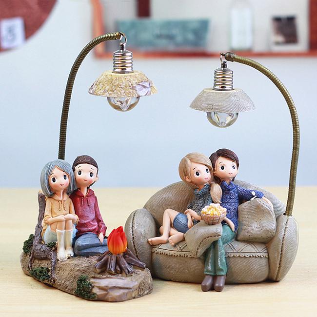 Tượng đèn đôi tình nhân