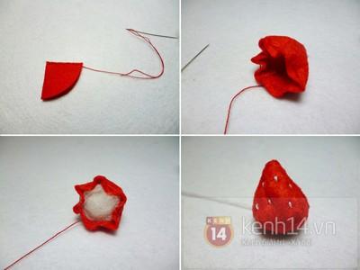Học cách đan giỏ mây đơn giản với giấy 7