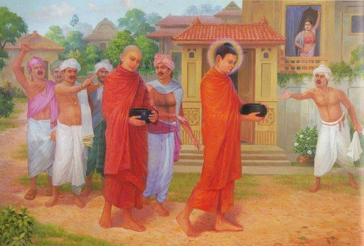 Câu chuyện tuần 10 - Chửi mắng và lời dạy của Đức Phật