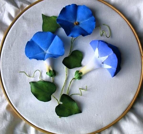 Làm hoa vải lãng mạn trang trí nhà mình 15