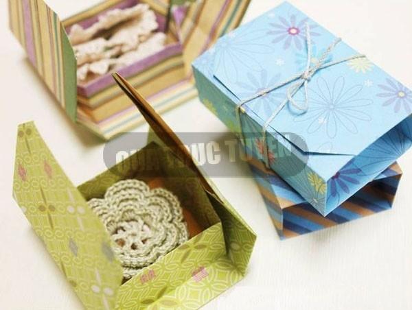 Hộp quà xinh xắn theo phong cách Origami12