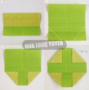 Hộp quà xinh xắn theo phong cách Origami 4
