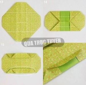 Hộp quà xinh xắn theo phong cách Origami 5