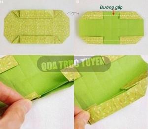 Hộp quà xinh xắn theo phong cách Origami 7