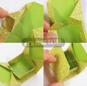 Hộp quà xinh xắn theo phong cách Origami 9