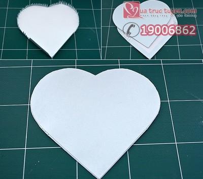 Khéo tay làm hộp quà trái tim thật đẹp 7
