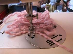 Thêm một cách làm khăn len không cần đan 5