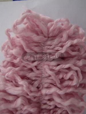 Thêm một cách làm khăn len không cần đan 6