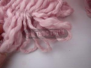 Thêm một cách làm khăn len không cần đan 7
