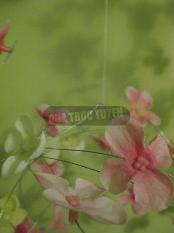 Cầu hoa xinh xắn cho phòng tươi tắn - 7