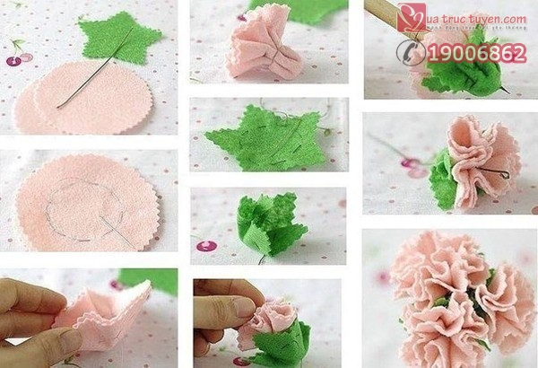 Bộ sưu tập cách làm bình hoa giấy đẹp lung linh 4