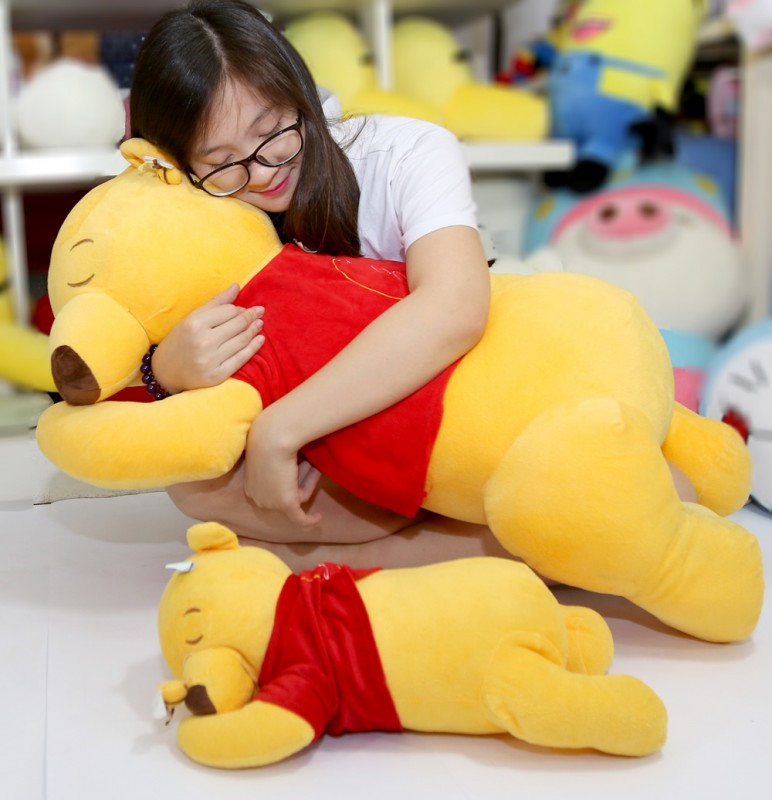 Gấu Pooh quen thuộc có thể theo bé đi mọi nơi