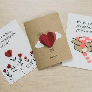 Thẻ ngày Valentine sáng tạo